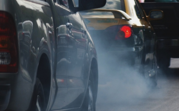 Car fumes - cropped