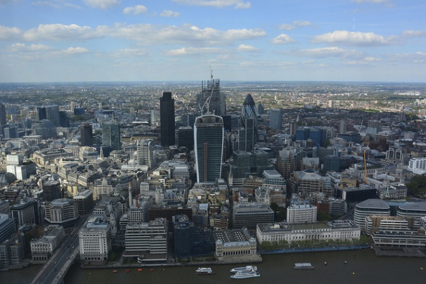 The view from the Shard - credit Martin Pettitt (Flickr)