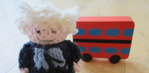 Boris and a Routemaster